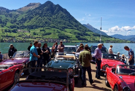 Drive of the Swiss TR Clubs