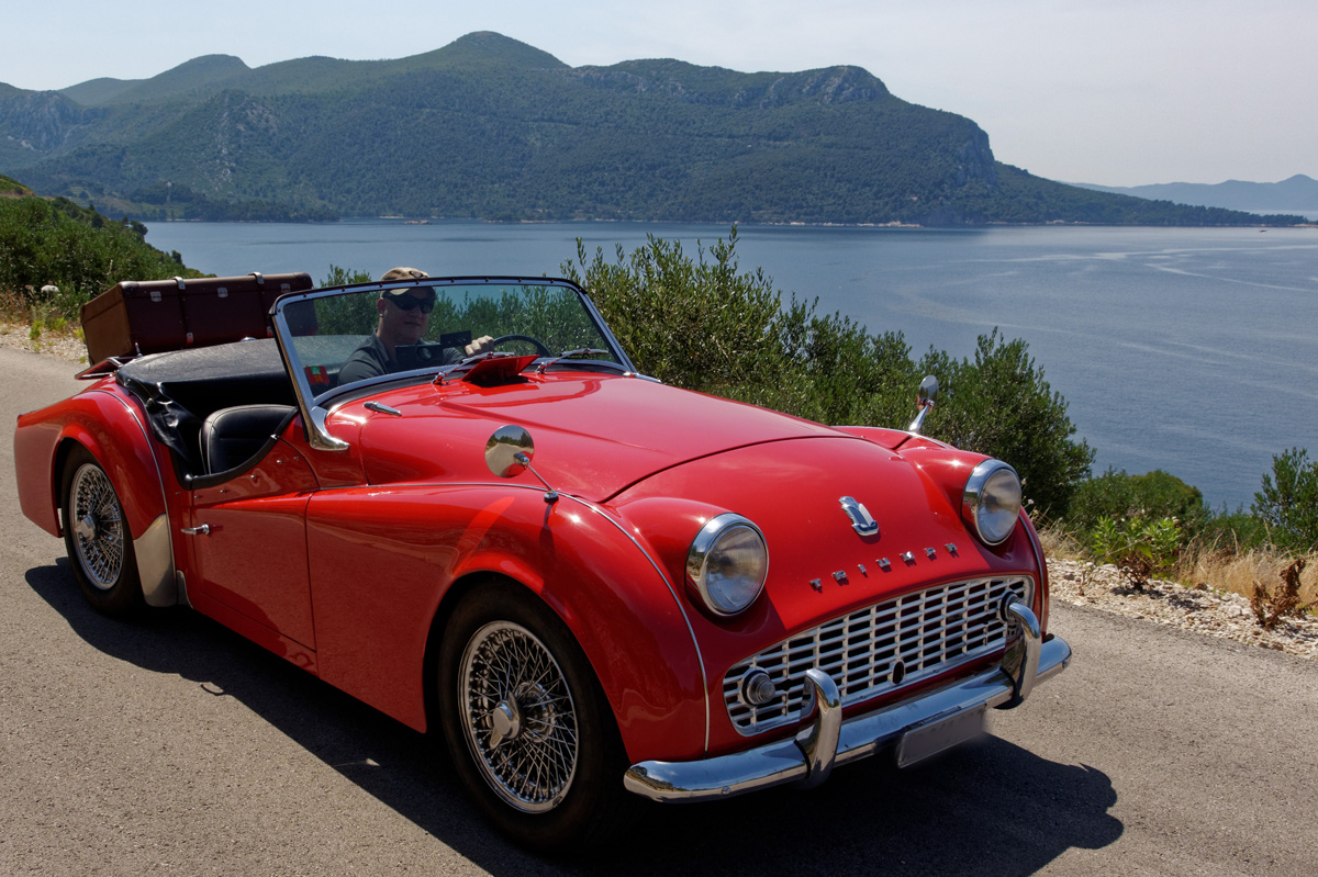 The Triumph Tr3 Tr3a Swiss Tr Club
