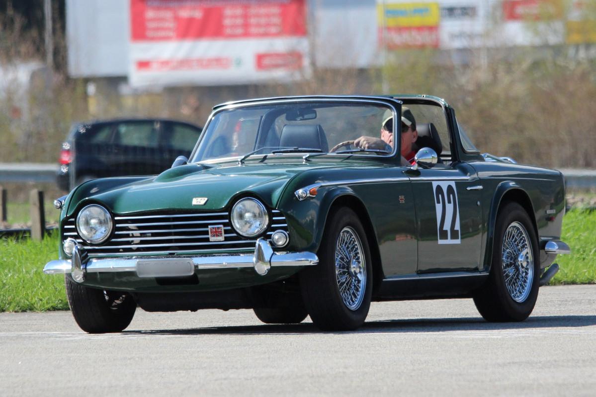 The Triumph Tr5 Tr250 Swiss Tr Club